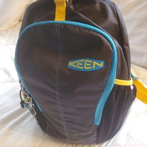 Keen backpack with seat